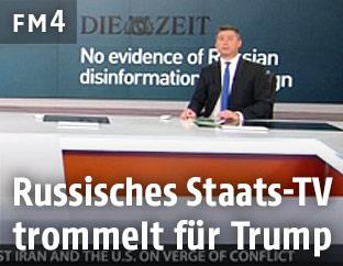 Nachrichtensendung von RT