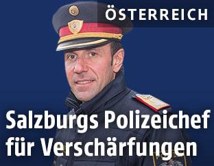 Der Salzburger Polzeidirektor Franz Ruf