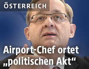 Flughafen-Vorstand Günther Ofner