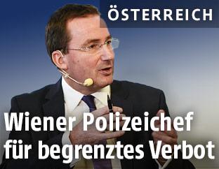 Wiener Polizeipräsident Gerhard Pürstl