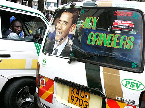 Minibus in Afrika