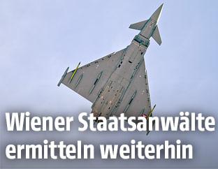 Eurofighter des österreichischen Bundesheers im Flug