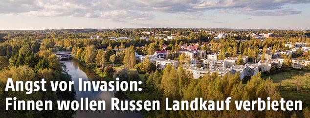 Finnische Landschaft