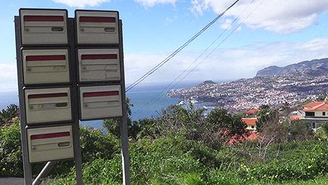 Briefkasten auf Madeira