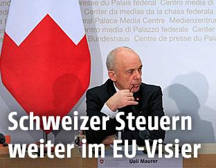 Schweizer Finanzminister Ueli Maurer