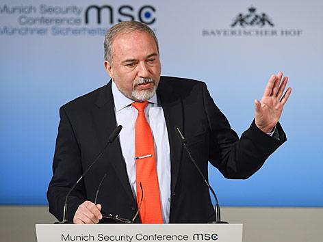 Israelischer Verteidigungsminister Avigdor Lieberman