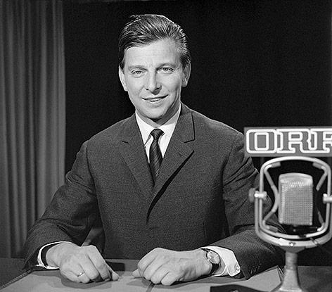 Archivbild von hugo Portisch aus dem Jahr 1968