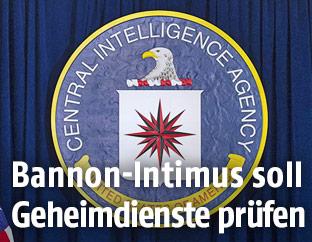 CIA-Logo im Hauptquartier