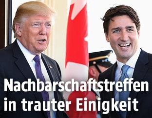 Donald Trump und Justin Trudeau