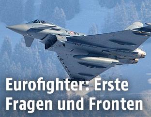 Österreichischer Eurofighter-Jet