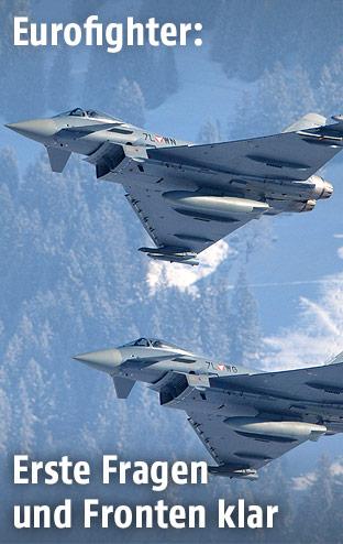 Österreichische Eurofighter-Jets