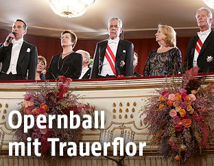 Opernball Mit Trauerflor News Orf At