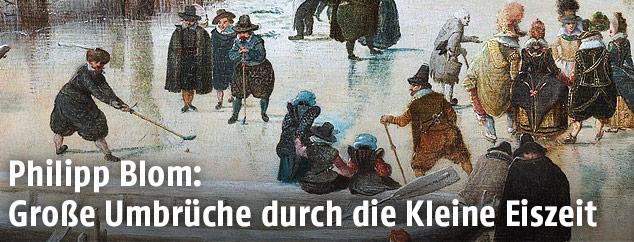 "Hendrick Avercamps ""Winterlandschaft"", circa 1608"