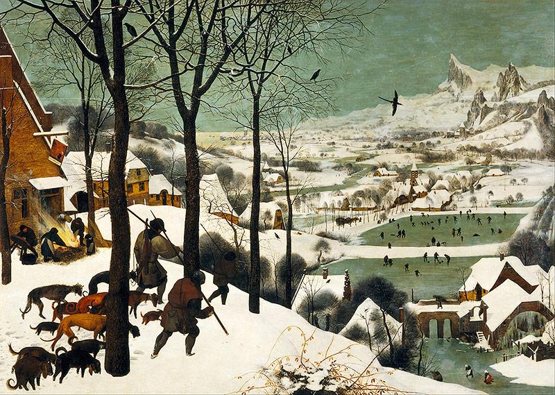 Die Jäger im Schnee (Pieter Bruegel)