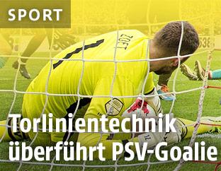 Goalie Jeroen Zoet (PSV Eindhoven)