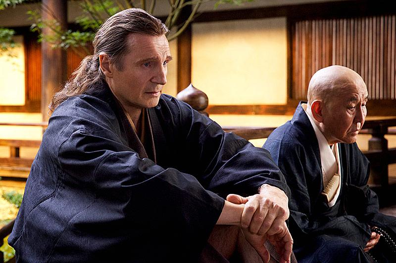 """Liam Neeson in einer Filmszene in """"Silence"""""""