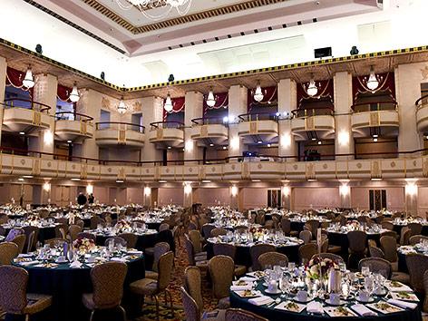 Ballsaal im Waldorf Astoria