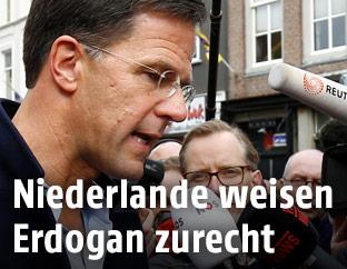 Der niederländische Premier Premier Mark Rutte