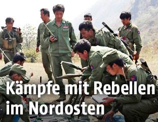 Rebellen in Myanmar