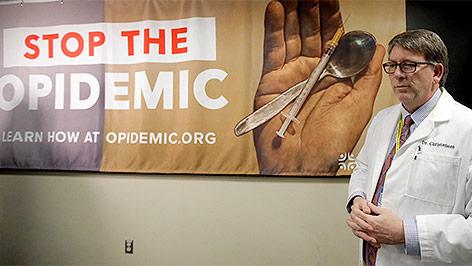 Präsentation einer Kampagne gegen missbräuchliche Verwendung von Opioiden in Utah