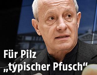 Grünen-Sicherheitssprecher Peter Pilz