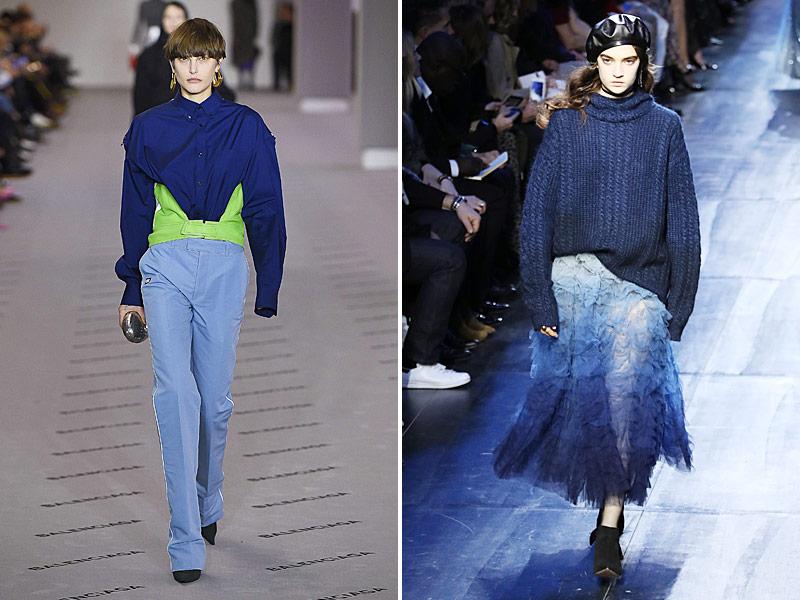 Herbstkollektion von Balenciaga und Dior