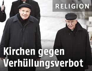 Kardinal Christoph Schönborn und der St. Pöltner Bischof Klaus Küng während der Österreichischen Bischofskonferenz