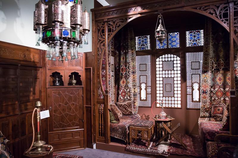 Eindrücke aus der Islam-Ausstellung auf der Schallaburg