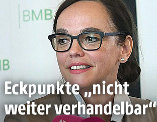 Bildungsministerin Sonja Hammerschmid