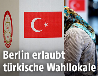 Wahllokal zur Präsidentschaftswahl in der Türkei