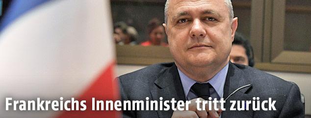 Frankreichs zurückgetretener Innenminister Bruno Le Roux