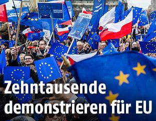 Demo in Warschau