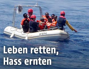Rettungsboot von Sea Eye
