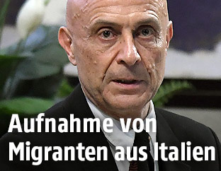 Italiens Innenminister Marco Minniti