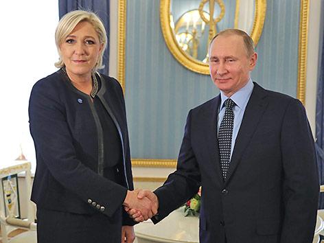 Le Pen trifft Putin - Rückenwind für den Wahlkampf?