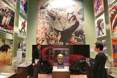 Ausstellungsraum im Museum des Zweiten Weltkriegs in Gdansk