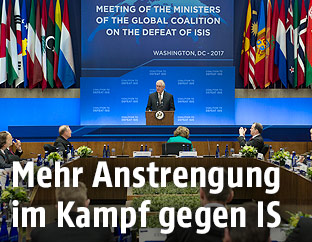 Treffen der Anti-IS-Koalition