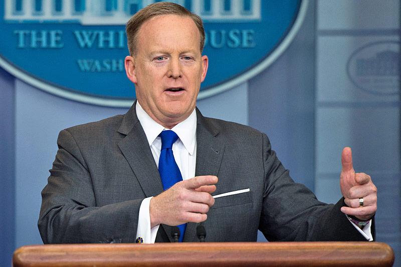 Präsidentensprecher Sean Spicer