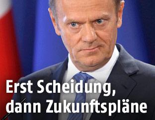 EU Ratspräsident Donald Tusk