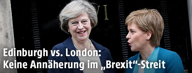 Theresa May und Nicola Sturgeon
