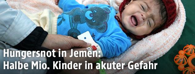 Kind im Jemen