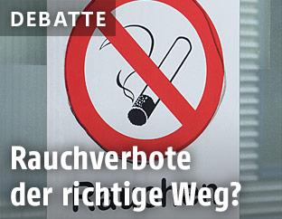Rauchverbot-Aufkleber