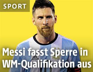 Lionel Messi im Argentinien-Trikot