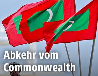 Flaggen der Malediven