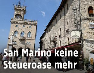Regierungsgebäude in San Marino