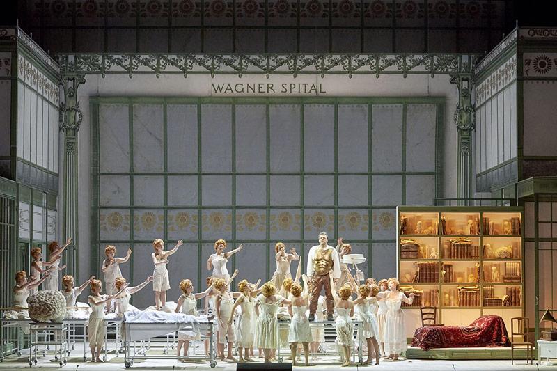 Szene aus Parsifal