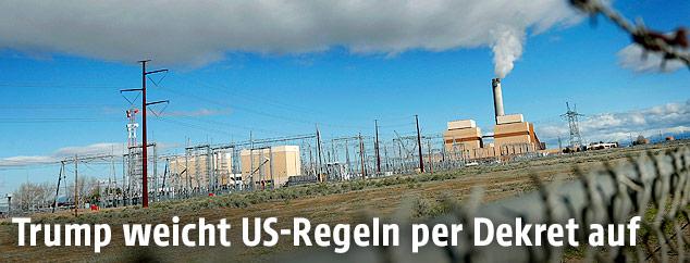Kohlekraftwerk in Utah