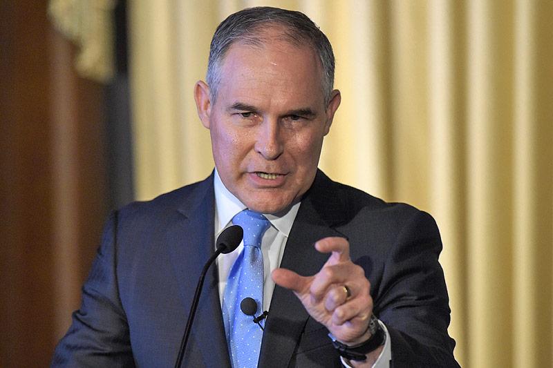 der Chef der US-Umweltschutzbehörde EPA, Scott Pruit