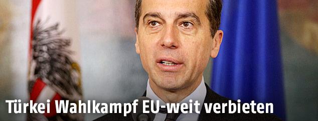 Bundeskanzler Christian Kern (SPÖ)