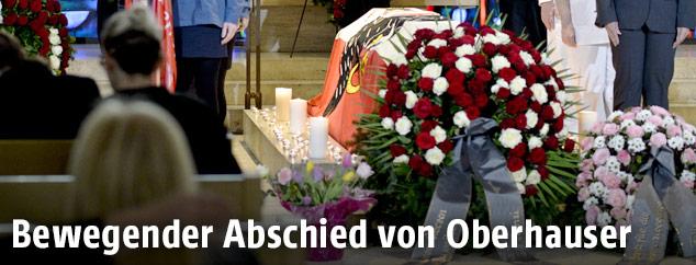 Trauerfeier für Sabine Oberhauser